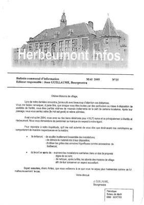 Herbeumont info 25