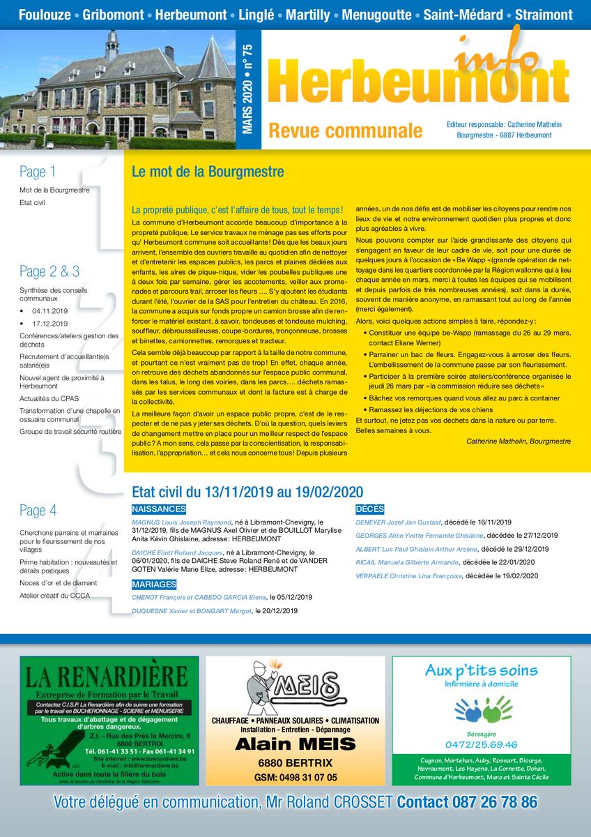 Herbeumont info 75