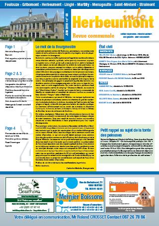 Herbeumont info 68