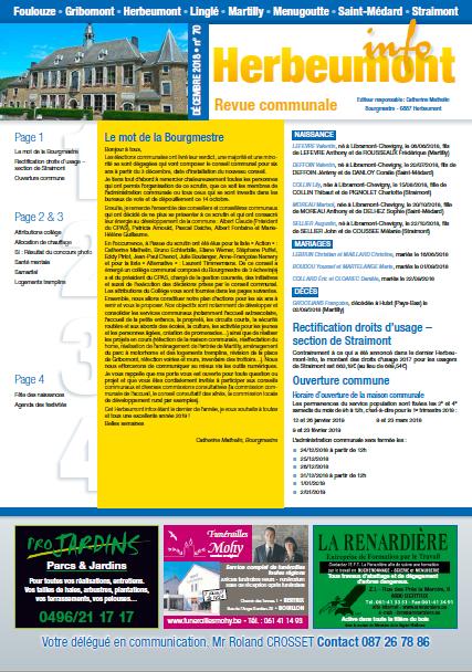 Herbeumont info 70