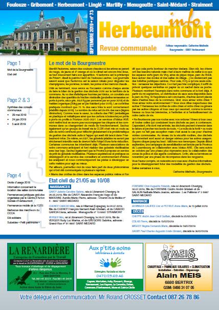 Herbeumont info 73