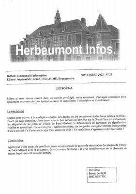 Herbeumont info 20