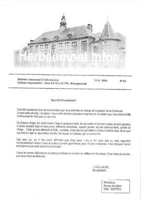 Herbeumont info 23