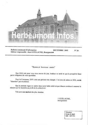 Herbeumont info 26