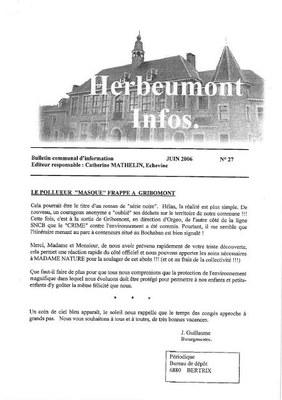 Herbeumont info 27