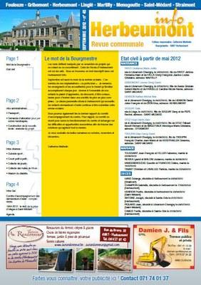 Herbeumont info 45