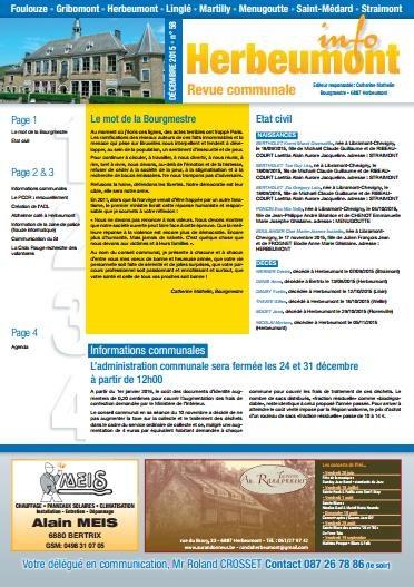 Herbeumont info 58